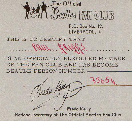 Beatles Fan Club Christmas Records